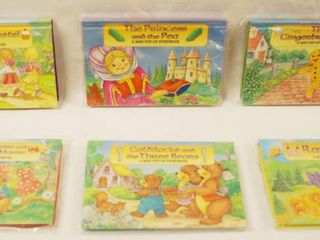 lot of 6 Sonic Mini Pop Up Books 1998  landolls  All In Original Packaging  Except One  1
