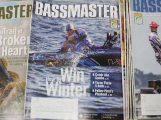 lot of Bassmaster Magazine 2017 2020