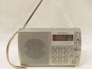 Vintage Radio Shack AM FM Shortwave Travel Radio  20 125