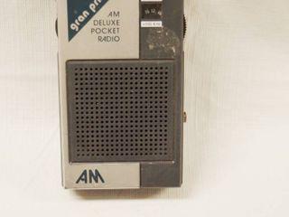Vintage Gran Prix AM Pocket Radio  A100