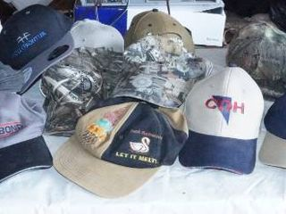 HUGE Hat Collection   Some Oil Related   Some NWT