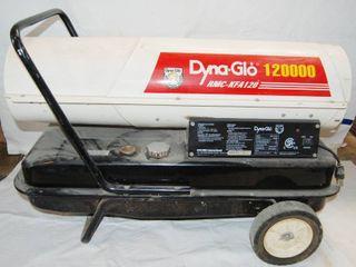 Dyna   Glo  Kerosene Heater   Model   AMC KFA120  See Photos
