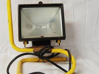 Yellow Work light