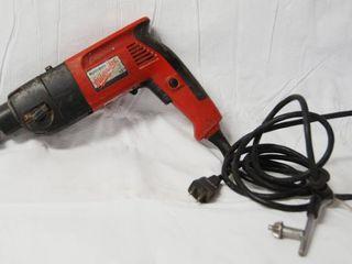 1 2  Milwaukee Hammer Drill w Drill Key   Heavy Duty