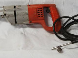Heavy Duty Milwaukee 90 degree   1 2  Drill   w Drill Key   Great for Plumbers