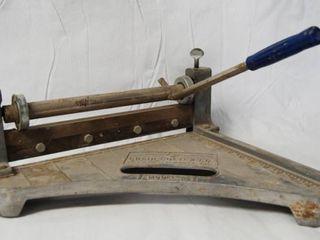 Heavy Duty Tile Cutter   Model  A