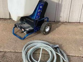 Heavy Duty  GRACO TEXSPRAY   RTX1500    Texture Machine   w 3 Hoppers  Hose     3  sm  med  large  Hoppers   More  See Photos