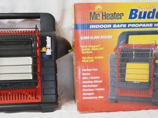 Mr  Heater Buddy   4 000   9 000 BTU  in Original Box  MHC 734000458628    INDOOR SAFE   Portable Propane Heater