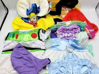 5  Build A Bear Costumes Clothes   Ariel  Snow White  Cinderella  Buzz lightyear and Bee Mine
