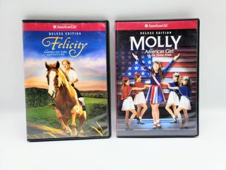 2  American Girl DVD s   Felicity an American Girl Adventure and Molly an American Girl on the Home Front