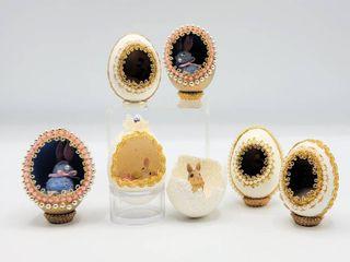 7 Decorative Egg Dioramas