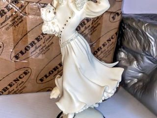 1997 Florence Original Giuseppe Armani Figurine 0320F   Winter Fun Signed and Dated  Initialled  Stamped and in Original Packaging