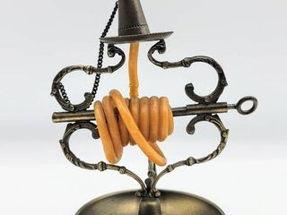 Antique Vintage Candle Wax Jack