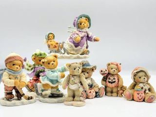 8 Enesco Cherished Teddies