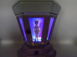 Disney Tinkerbell large lantern Musical lighted Jewelry Box