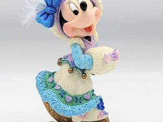 Disney Enesco  You Have Skated Into My Heart  Minnie Mouse Ice Skating Figurine 195588 in Box