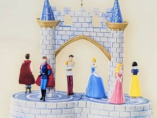Hallmark Keepsake Disney Christmas Ornament AT THE BAll Features Motion 2007