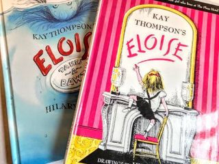 2 Eloise Children s Books by K Thompson drawings by Hilary Knight  Eloise Takes A Bawth  and  Eloise