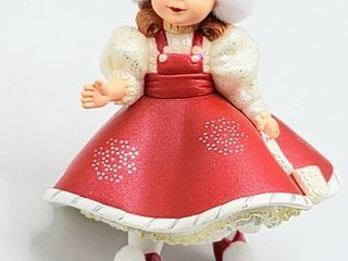 Hallmark Keepsake Ornament Collector s Series  Holiday Snowflake Skater  Inspired by Madame Alexander Doll  Handcrafted and Dated 2003
