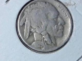 1934 D Buffalo Nickel