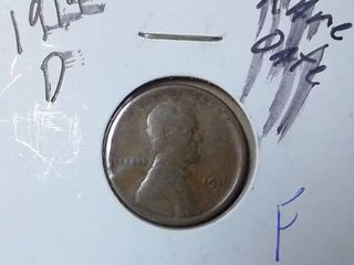 1919 D Wheat Penny RARE DATE