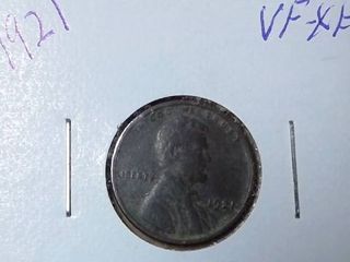 1921 Wheat Penny