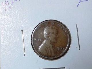 1924 Wheat Penny