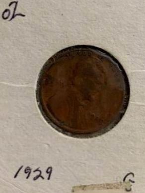 1929 Wheat Penny