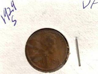1929 S Wheat Penny