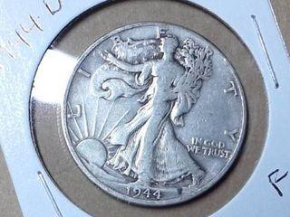 1944 D Walking liberty Half Dollar