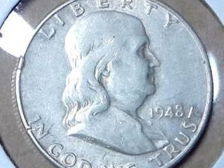 1948 D Walking liberty Half Dollar
