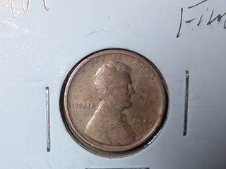 1909 Wheat Penny