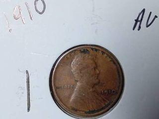 1910 Wheat Penny