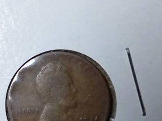 1914 Wheat Penny