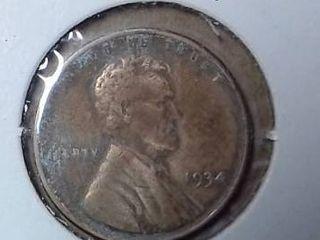 1934 Wheat Penny