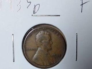 1935 D Wheat Penny