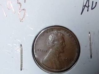 1937 D Wheat Penny