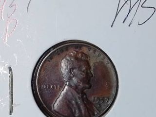 1957 D lincoln Memorial Penny
