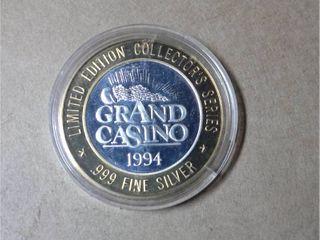 10 Gaming Token   Grand Casino