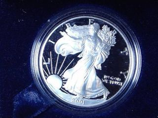 2001 American Eagle Proof  UNC in Casing