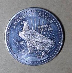 1 oz  Fine Silver American Eagle