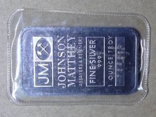 1 oz  Johnson Matthey Commemorative Coin