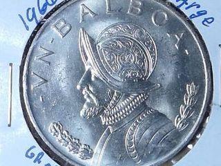 1966 Panama Silver Balboa