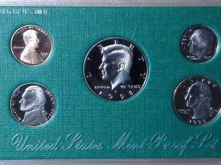 1998 Mint Proof Set