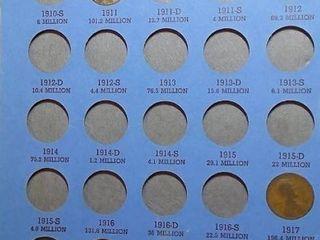 lincoln Head Cent Book  1909 1940 x 39 Pennies