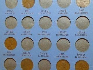 lincoln Head Cent Book  1909 1940 x 55 Pennies
