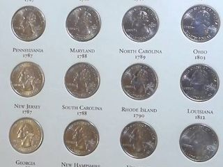 1999 2008  50 State Quarters  D C    US Territories