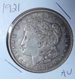 1921 Silver Peace Dollar