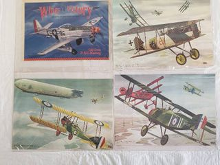 4  8 x 10 Aircraft Pictures