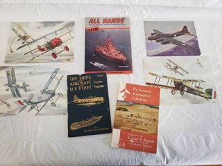 Military Aircraft Pictures and 3 Books